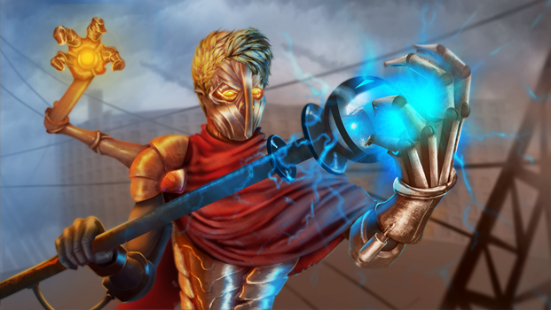 LOL-Championfy Me - Viktor Commission by MiladySnowdrop