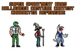 SAB Halloween Contest Character Reference (Large) by SuperApartmentBros