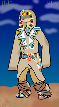 possible AC3 cosplay (native american?) by teamemeraldHQ