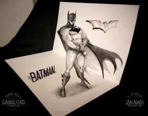 The Bat - A 3D Drawing by Iza-nagi
