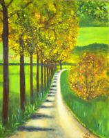 French road by WendyMitchell