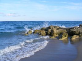 Beach 19 by DKD-Stock