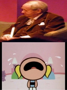 Bubbles Crying on Peter Sallis' Death by MikeEddyAdmirer89