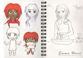 Sketchbook (25) by Idle-Emma