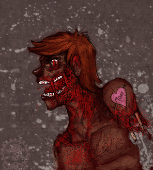 zombie ii by thechaosproject