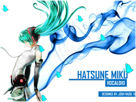 Hatsune Miku by vocaloidloverjosh