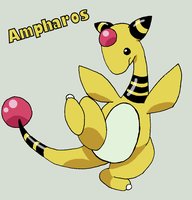 Ampharos by Roky320