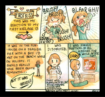 Diary Comic - First Kiss by tea-bug