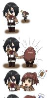 Give me that potato (Mikasa x Sasha) by mrne93