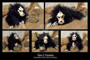 Art Doll - Gen. 2 Voodoo by WormsandBones