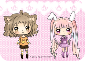 adoptables :: animal themes :: open by sakuracaramel