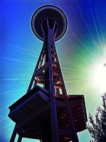 Below Space Needle v.1 by Scorpion31
