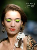 Apple Green Mexican Queen by E.Ve Make-up by CPA-x-e-n-o-i