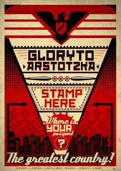 Papers, Please - Poster by yolkia