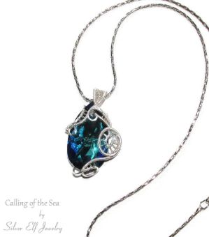 Calling of the Sea pendant by Lyriel-MoonShadow