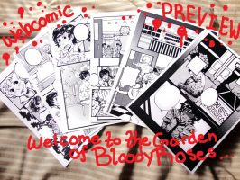 "Webcomic""Bloody Roses""PREVIEW by Ark-san"