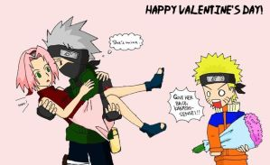 Happy valentine :kakasaku: by xBlackGurlx