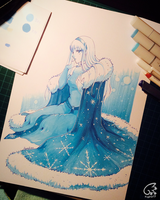 Ice Princess + VIDEO Process by kyara17