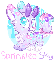 Sprinkled Sky Gummaxy .:AUCTION:. (closed) by RoseyWingedCat