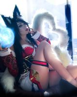 Ahri by Toniji-Arts