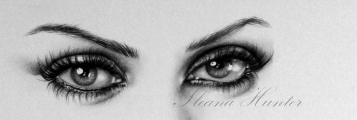 Mila Eyes Detail by IleanaHunter