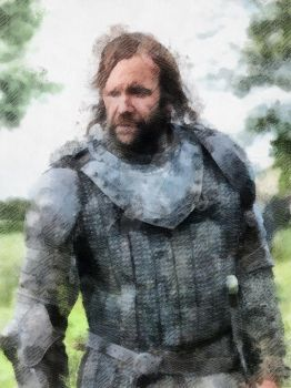 The Hound - Game of Thrones by WisdomAlchemy
