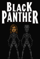 Black Panther (New Earth) by Nova20X