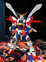 GF13-017NJII MG God Gundam by JetForceGemini360