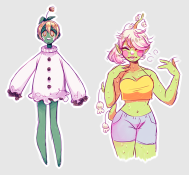 some plants by Screamsicle