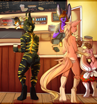 Coffae shop by coffaefox