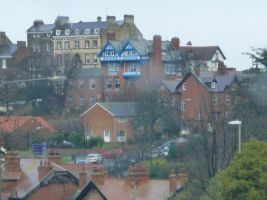 Houses in Whitby by illusiveexistence