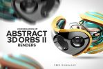 Free Abstract Orbs Render Pack 2 by DesignerCandies