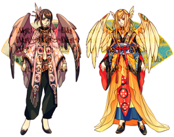 ADOPTABLE SET 13: MYSTIC TALES OF THE ORIENT |OPEN by CARPFISH