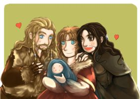 Bagginshield:: Baby!! by caylren