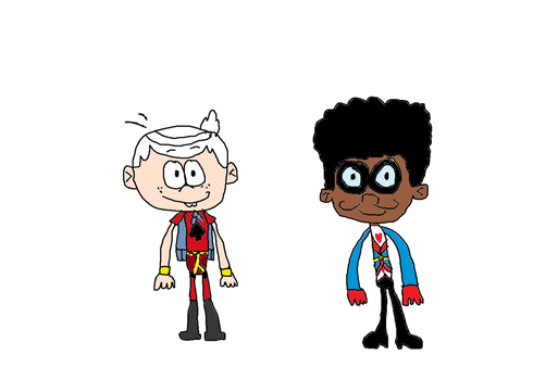Lincoln Ace Savvy and Clyde One Eyed Jack by Simpsonsfanatic33
