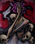 Death Surrounds Her by ShawnCoss