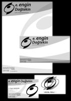 Letterhead and card design 2 by GrapheeD
