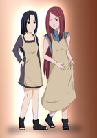 Mikoto and Kushina Rivals ? by CherryDesire