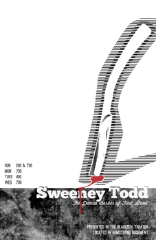 Sweeney Todd Poster by inkWanderer