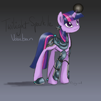 WarFrame Twilight Sparkle (Vauban) by minty-red