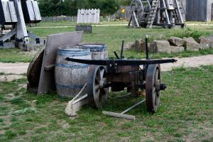 Medieval objects 5 catapult by Wess4u