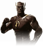 The Flash Injustice 2 Portrait PNG by DarkVoidPictures