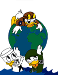WW2 Huey Dewey and Louie by JMK-Prime