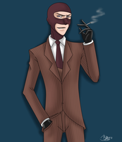 TF2 -The Spy- by UnseenChaser