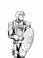 Captain America by Arddy24