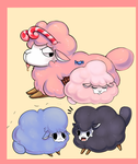 Cotton Candy Sheep by Joltik92