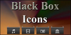 Black Box Iconpack by Mheltin