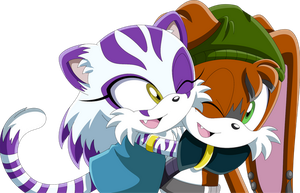 Locai and Yuki by Noble-Maiden