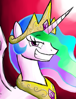Smug Celestia by Gallade77
