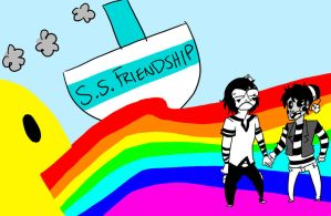 S.S. FRIENDSHIP by mellow-monsters